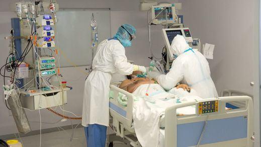 La incidencia roza los 165 casos mientras Sanidad comunica 6.623 nuevos contagios y 128 fallecidos