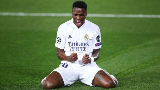 Vinicius vive al fin su gran noche en el mejor momento para el Madrid (3-1 al Liverpool)