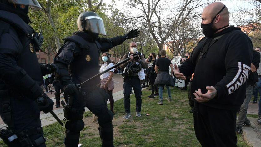 La Guerra Civil, tendencia en Twitter tras los altercados de Vallecas