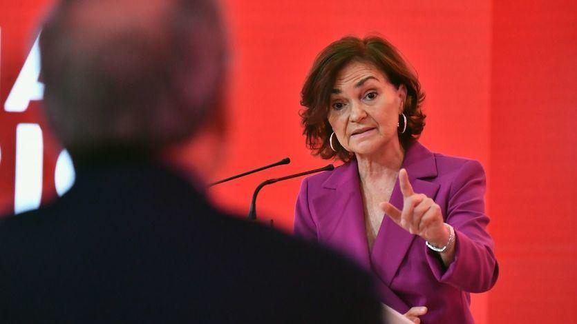 Calvo, sobre Ayuso: 'Le preocupa más cómo puede ayudarla Vox y la ultraderecha que lo que pensamos y necesitamos las mujeres'