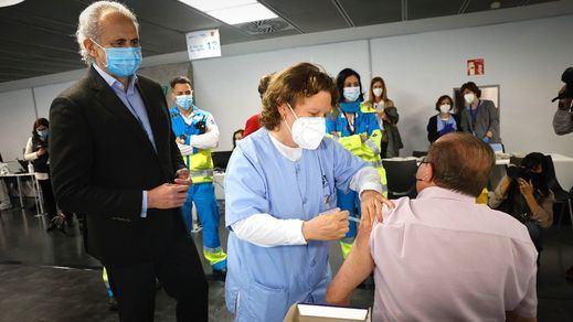 Madrid solicita que se pueda vacunar voluntariamente con la segunda dosis de AstraZeneca