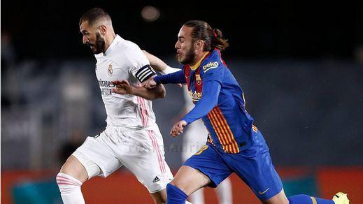 El Madrid se impone al Barça en el Clásico y se sitúa como líder de la Liga