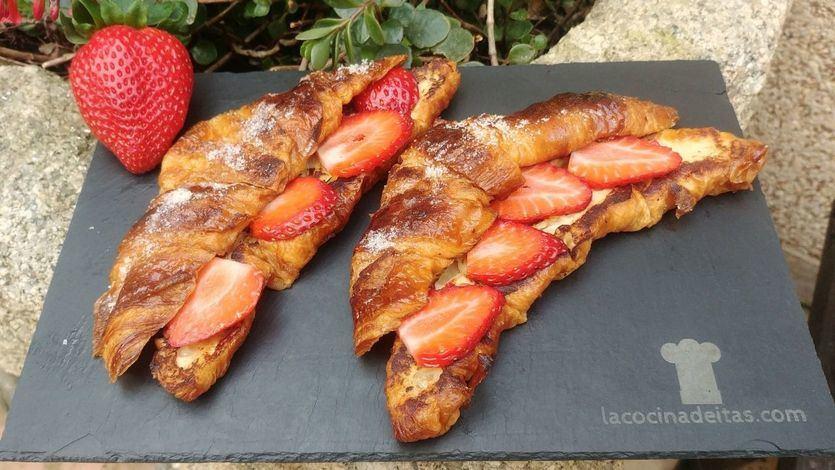Receta: cómo hacer torrijas de croissant