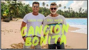 Ricky Martin y Carlos Vives lanzan su 'Canción bonita', dedicada a Puerto Rico