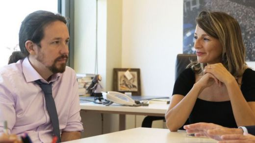 Pablo Iglesias, sobre su sucesora en Podemos: 'Yolanda Díaz es mejor que yo'