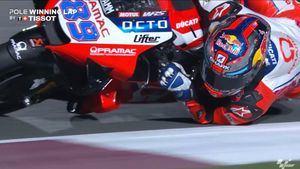 El piloto Jorge Martín sufre un grave accidente en el entrenamiento del GP de Portugal