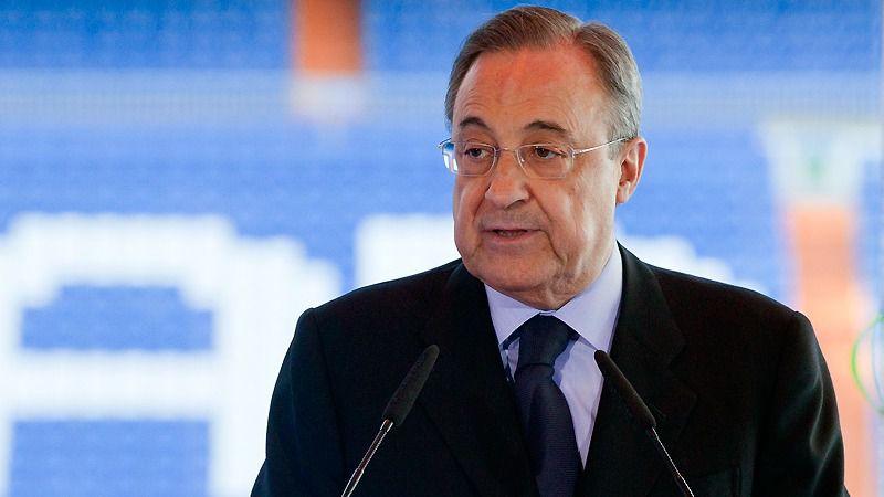 Florentino Pérez, sobre la Superliga que presidirá: 'Vamos a ayudar al fútbol a todos los niveles'