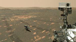 'Un sueño hecho realidad': el primer vuelo a motor en Marte