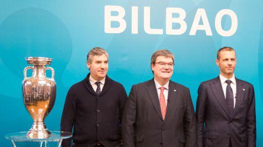 Gobierno vasco y Ayuntamiento de Bilbao confirman que la ciudad no será sede de la Eurocopa y acaban a tortas con la UEFA