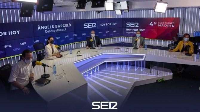 El segundo debate de Madrid explota: Gabilondo y García lo abandonan para condenar a Vox y apoyar a Iglesias