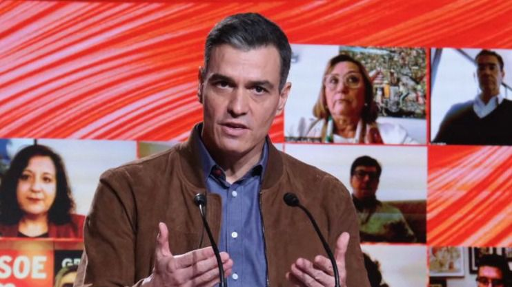 Sánchez apela a los demócratas para 'parar' a Vox en las urnas el 4-M