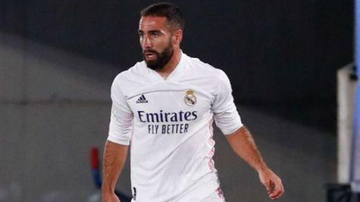 Carvajal, otra baja clave para el Madrid en la recta final de la temporada