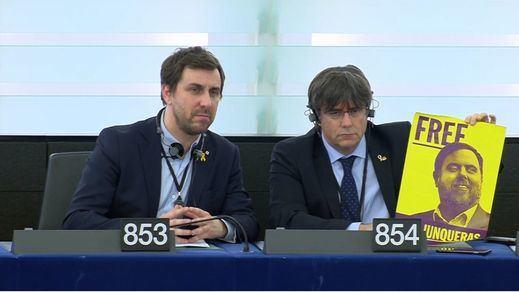 250 eurodiputados piden la amnistía de líderes independentistas catalanes