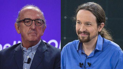 Pablo Iglesias y Roures: la alianza mediática del futuro que hace estallar las redes