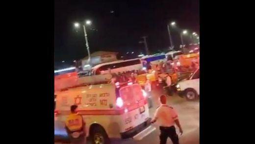 Al menos 44 muertos en una estampida en Israel durante una fiesta religiosa