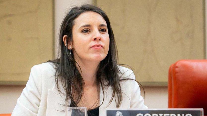 La ministra Irene Montero ante la Comisión de Igualdad en el Congreso