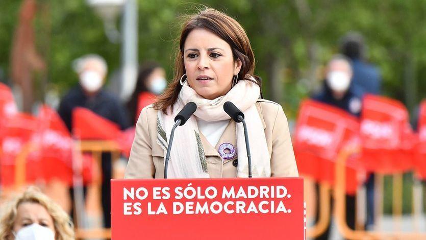Ni una referencia a la derogación de la reforma laboral en el acto del PSOE por el 1 de mayo
