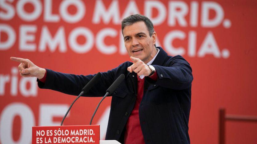 Sánchez pide a Madrid dejar átrás 'el tiempo de trincheras y el odio alimentado por la derecha'