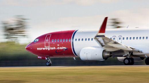 La aerolínea Norwegian anuncia el despido del 85% de su plantilla en España
