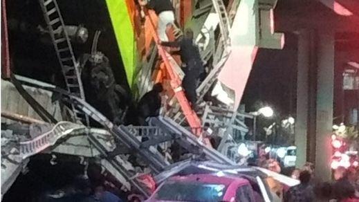 Un derrumbe en el metro de Ciudad de México provoca más de 20 muertos