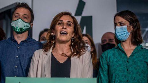 Más Madrid logra el 'sorpasso' al PSOE y Mónica García se convierte en la segunda gran triunfadora del 4-M