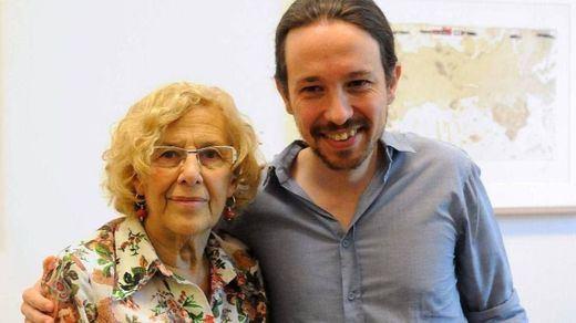 La reflexión de Manuela Carmena sobre la dimisión de Pablo Iglesias