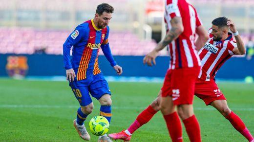 Barça y Atlético dejan más abierta aún la Liga con un 0-0 que no le vale a ninguno