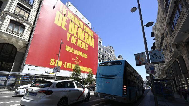 La Copa Davis se promociona proclamando que Madrid es 'de derecha y de revés'
