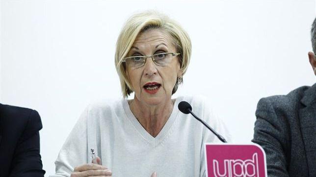 Polémica por el llamamiento de Rosa Díez para 'salir a la calle a exigir la dimisión del Gobierno'