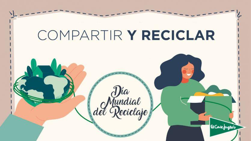El Corte Inglés apuesta por la economía circular y potencia los productos de origen reciclado