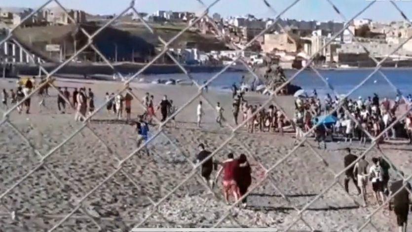 Ceuta suspende la campaña de vacunación debido a la crisis migratoria
