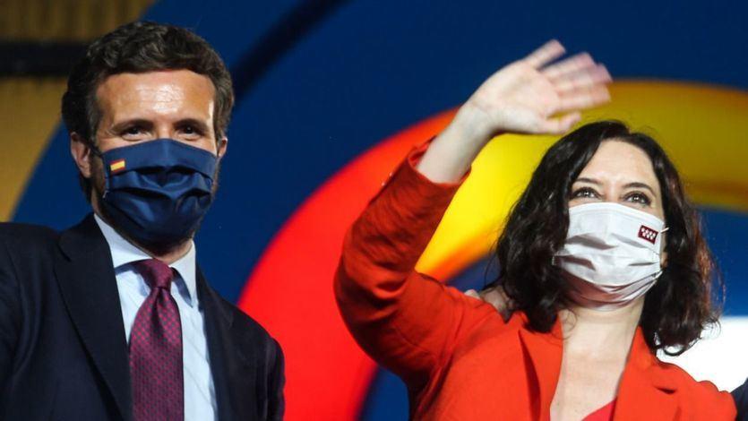 El barómetro del CIS refleja el 'efecto Ayuso' y el PP se acerca al PSOE en estimación de voto