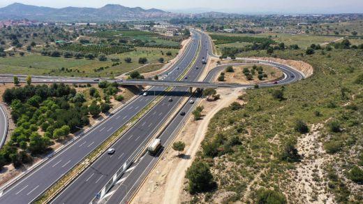 Sacyr termina las obras de ampliación de la autovía del Turia (CV-35)
