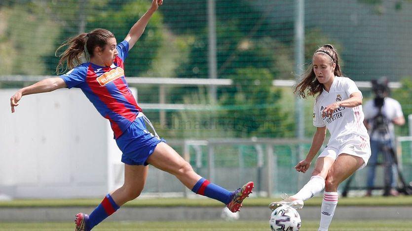 Partido de La Liga entre el Real Madrid y el Eibar