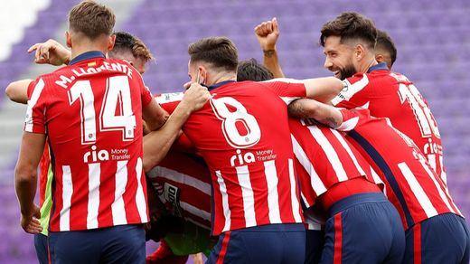 El Atlético de Madrid, justo campeón de Liga tras remontar, sufrir y vencer
