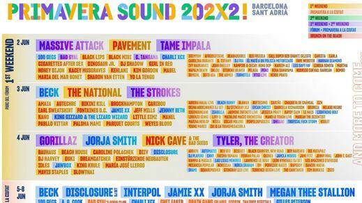 Primavera Sound 2022: Dua Lipa, Gorillaz, Lorde... en el cartel más esperado
