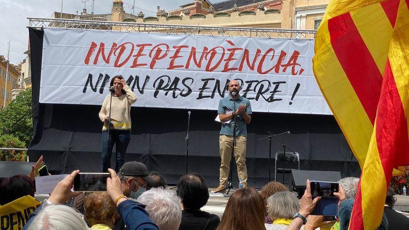 Elisenda Paluzie, en un acto de la ANC en Girona