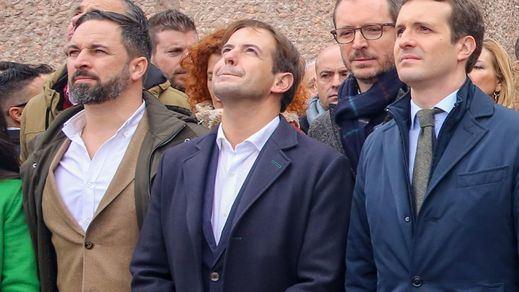 ¿Habrá otra 'foto de Colón' con Casado y Abascal?: PP y Vox irán a la concentración del 13-J contra los indultos