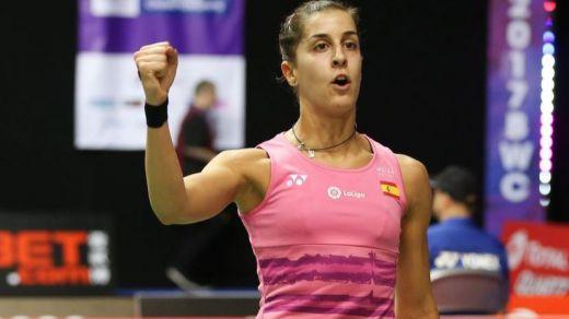 Peligra la participación de Carolina Marín en los Juegos de Tokio por una lesión
