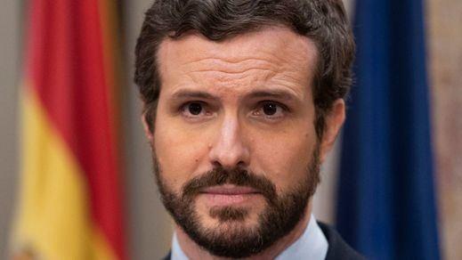 La explosiva entrevista de 'Financial Times' a Casado: se irrita al hablar del 'efecto Ayuso', de Vox, de la corrupción en el PP...