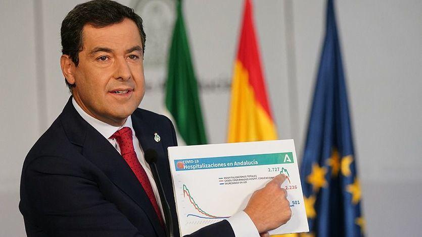 El PP gobernaría en Andalucía y Castilla-La Mancha, pero tendría que apoyarse en Vox