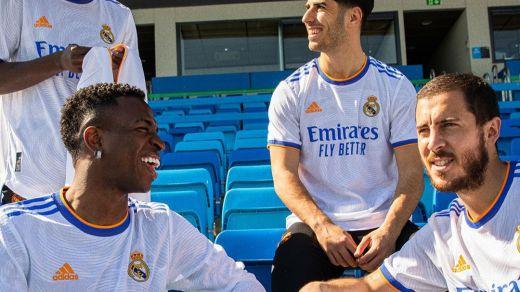 Ya está aquí la nueva equipación del Real Madrid para la temporada 2021-22