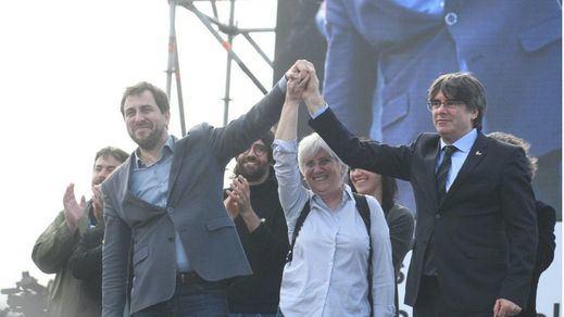 La justicia europea restituye provisionalmente la inmunidad parlamentaria de Puigdemont, Comín y Ponsatí