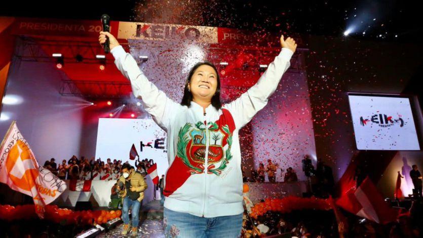 Perú: Keiko Fujimori gana por la mínima con el 90% escrutado, pero falta por contar el voto rural