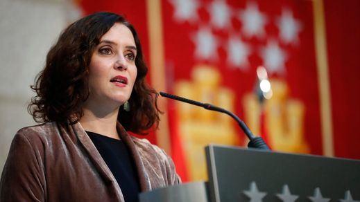 El PP se lleva 4 de los 7 puestos en la Mesa de la Asamblea de Madrid, en la que entra Vox