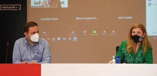 concejal de Urbanismo, José Luis López y Amparo Marco alcaldesa de Castellón