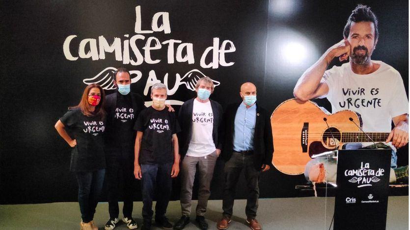 'Vivir es urgente', el lema de Pau Donés se convierte en camiseta solidaria