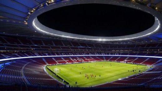 Pique entre atléticos y madridistas por la petición para usar el Wanda Metropolitano