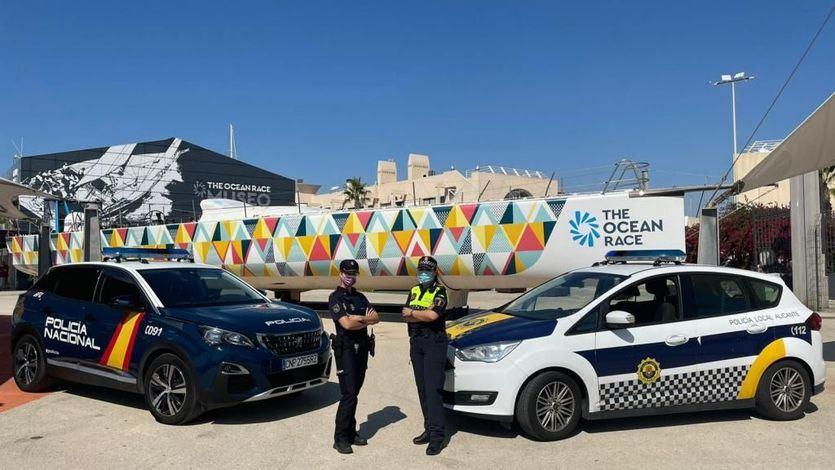 Dispositivo especial Policía Nacional y Policía Local para la regata