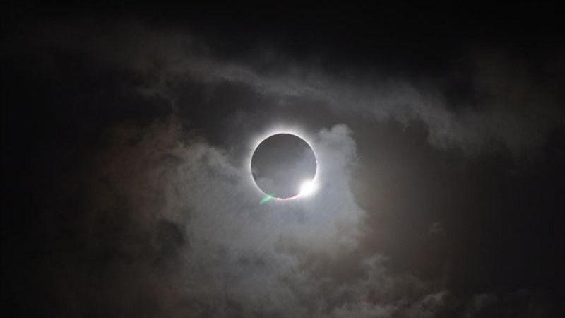 Este jueves tuvimos eclipse solar visible desde España